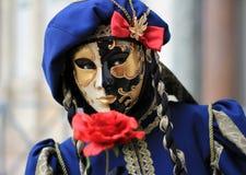karnawałowy Wenecji Zdjęcie Stock