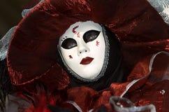 karnawału dekoracyjny kostiumowy folował Venice Zdjęcia Royalty Free