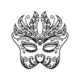 Karnawału maskowy pojęcie ilustracja wektor