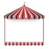Karnawału namiotu rama Obraz Royalty Free