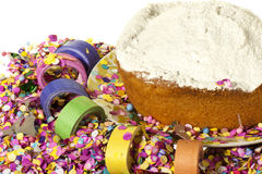 Karnawału tort obraz stock