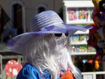 Karnawał Alhama de Granada Zdjęcia Royalty Free