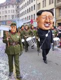 Karnawał Basel, Kim UN - Zdjęcia Royalty Free