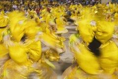 Karnawał brazylijskie Rio De Janeiro Zdjęcia Stock