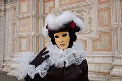 karnawał kostiumowy Venice Obrazy Stock