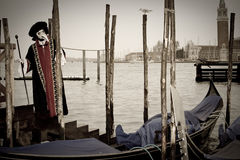 karnawał kostiumowy Venice Zdjęcia Royalty Free