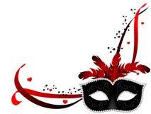 Karnawał maska Fotografia Royalty Free