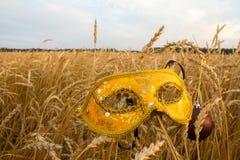 Karnawał maska w banatce Zdjęcie Royalty Free
