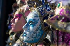 Karnawał maska w Wenecja Obraz Royalty Free