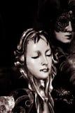 Karnawał maska, Wenecja Zdjęcie Royalty Free