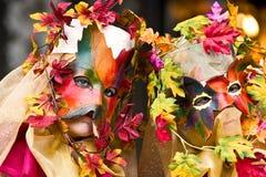 karnawał maska Wenecji Obraz Stock
