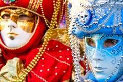 karnawał maska Wenecji Zdjęcia Stock