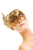 karnawał maskowa kobieta Zdjęcie Royalty Free