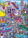 karnawałowa ilustracja Obraz Stock