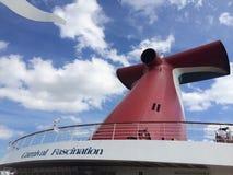 Karnawałowa statek wycieczkowy facsynacja zdjęcia royalty free
