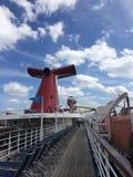 Karnawałowa statek wycieczkowy facsynacja obraz royalty free