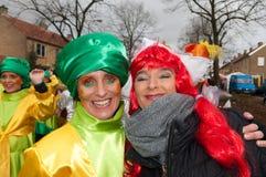 karnawałowe holandie Zdjęcia Stock