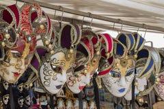 karnawałowe zabawy wakacje maski Obraz Stock