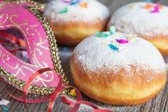 Karnawałowi donuts Zdjęcie Stock