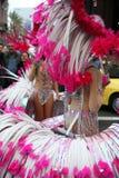 Karnawałowi piórka Zdjęcia Royalty Free