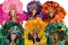 karnawałowi tancerek Zdjęcia Royalty Free