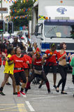 karnawałowi tancerze Leicester Obrazy Royalty Free