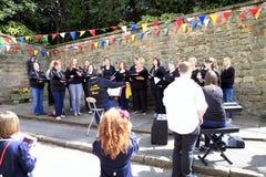 Karnawałowy chór, Derbyshire Zdjęcia Stock