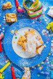 Karnawałowy ciastko Obrazy Stock