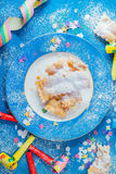 Karnawałowy ciastko Obrazy Royalty Free