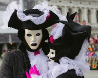 karnawałowy festiwal Venice Zdjęcia Stock