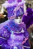 karnawałowy kostiumowy Venice Zdjęcia Royalty Free