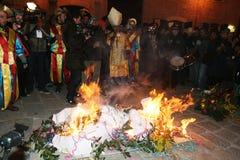 karnawałowy pogrzeb Fotografia Stock
