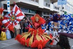 karnawałowy Portugal Zdjęcia Stock