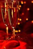 karnawałowy szampan Fotografia Royalty Free