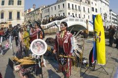 karnawałowy Venice Zdjęcie Stock