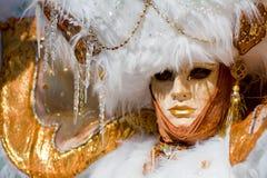 karnawału kostiumu maska Venice Fotografia Stock