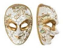 Karnawału maskowy arlekin Ostatki Wakacje dekoracja Zdjęcia Stock
