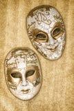 Karnawału maskowy arlekin Ostatki Wenecki festiwal Zdjęcie Royalty Free