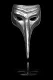 karnawału renaissance maskowy srebro Zdjęcia Royalty Free