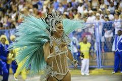 Karnawał 2018 - Unidos da Tijuca Fotografia Royalty Free
