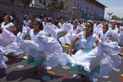 Karnawał w Arica, Chile Obraz Stock