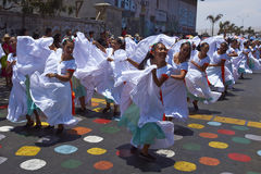 Karnawał w Arica, Chile Zdjęcie Stock