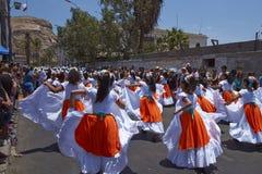 Karnawał w Arica, Chile Fotografia Stock