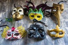 karnawałowe zabawy wakacje maski Obrazy Royalty Free