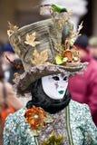 karnawałowy kostiumowy Venice Obraz Royalty Free