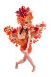 Karnawałowy tancerz kobiety taniec Zdjęcie Stock