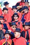 karnawału kolorów cibora folująca zabawa Fotografia Stock