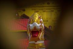 Karnchanaburi Ταϊλάνδη Sangkraburi Στοκ φωτογραφία με δικαίωμα ελεύθερης χρήσης