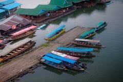 Karnchanaburi Tailandia de Sangkraburi Fotografía de archivo libre de regalías