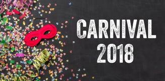 Karneval 2018 royaltyfri bild